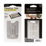 Financial Tool  мультиинструмент + зажим для наличных и карт