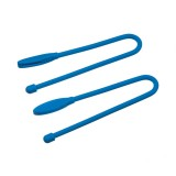 "Набор хомутов Nite Ize Gear Tie Cordable Twist Tie 6"" 2 шт. Bright Blue"