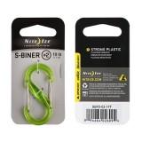 Карабин пластиковый S-Biner #2 Lime