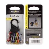 Брелок KeyRack  - S-Biner, Black