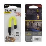 Хомут GEAR TIE с кольцом для ключей, Neon Yellow
