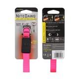 Светодиодный ошейник Nite Dawg Extra Small, Neon Pink