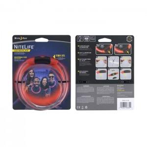 Светодиодное ожерелье NITELIFE LED NECKLACE, Red