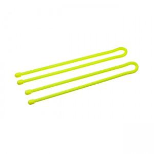 "Набор хомутов прорезиненных многоразовых Nite Ize Gear Tie Reusable Rubber Twist Tie 32"" 2 шт. Neon Yellow"