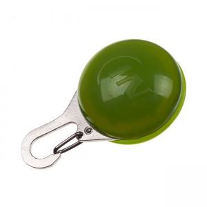 Светодиодный фонарик-карабин Nite Ize SPOTLIT Eco Lime