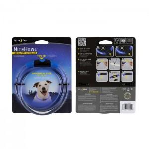 Светодиодный ошейник NiteHowl, Blue