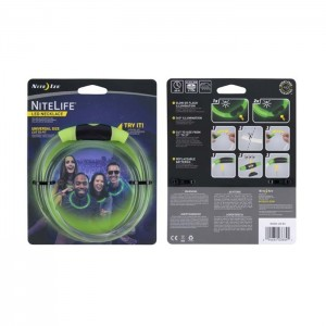 Светодиодное ожерелье NITELIFE LED NECKLACE, Green