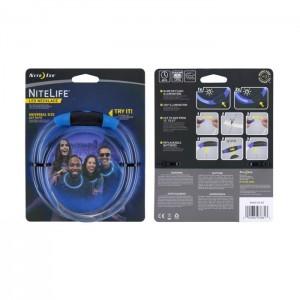 Светодиодное ожерелье NITELIFE LED NECKLACE, Blue