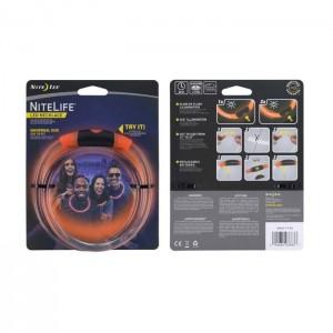 Светодиодное ожерелье NITELIFE LED NECKLACE, Orange